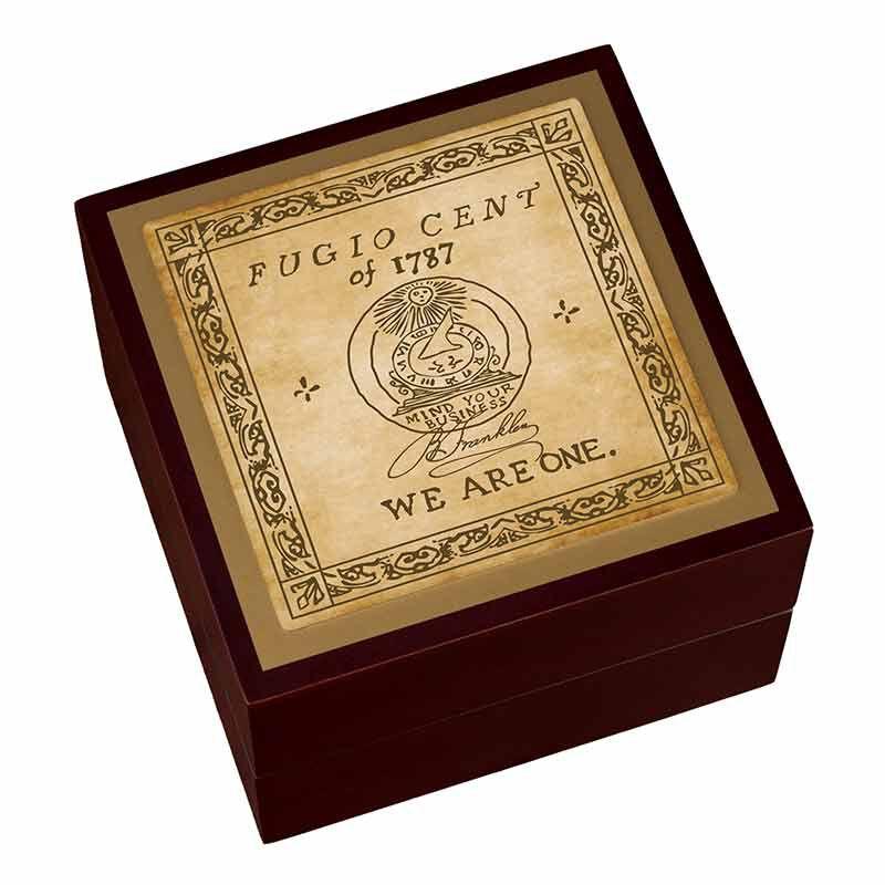 The Franklin Cent Silver Bullion Commemorative 2425 001 1 4