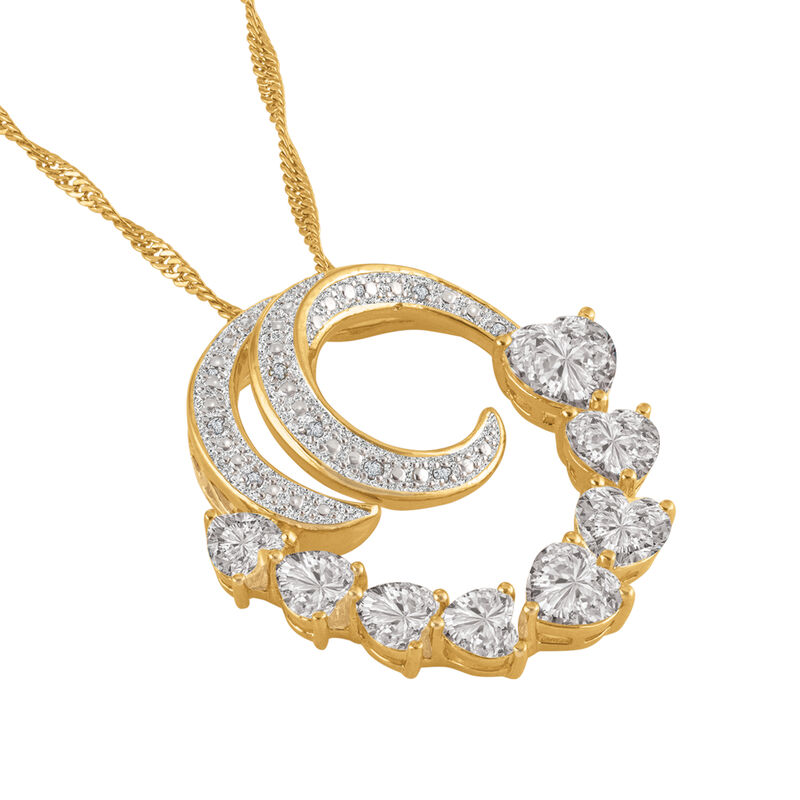 Beloved Diamond Swirl Pendant 6926 0016 b angled