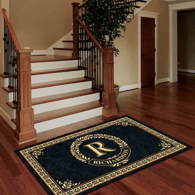 The Monogrammed Accent Rug 2413 001 5 2