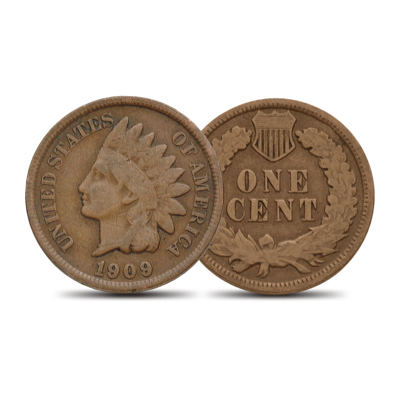 The Last 10 Years of Indian Head Pennies Collection 10404 0019 a coin