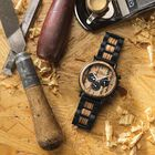 The Craftsman Mens Wooden Chronograph 4915 001 4 6