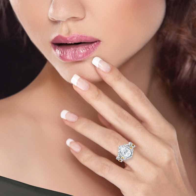 My Forever Promise Diamonisse Ring Set 2775 005 8 4