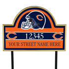 NFL Pride Personalized Address Plaques 5463 0405 a bears