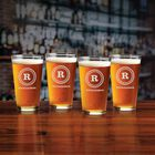 The Personalized Set of Four Beer Glasses 5677 0027 a main
