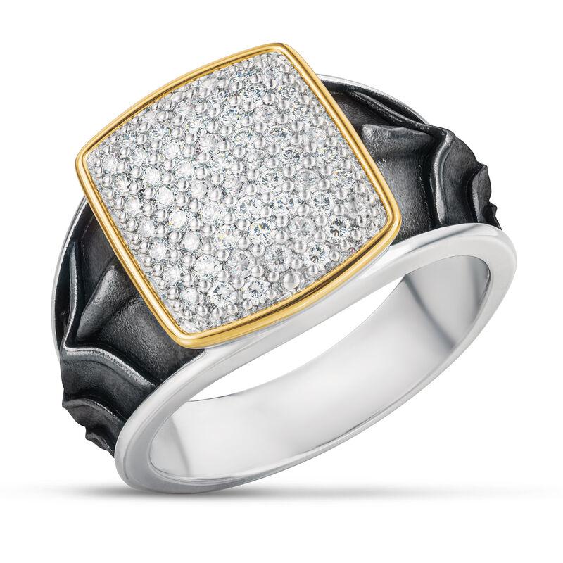 Diamond Knight Mens Ring 10158 0017 a main