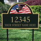 Land of the Brave Address Plaque 1092 002 3 2