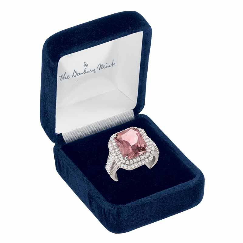 The Blushing Beauty Sterling Silver Ring 6423 001 4 2