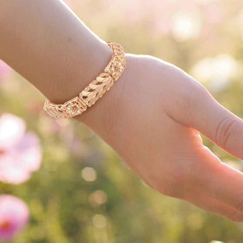 Healing Blooms Copper Bracelet 6368 001 1 5