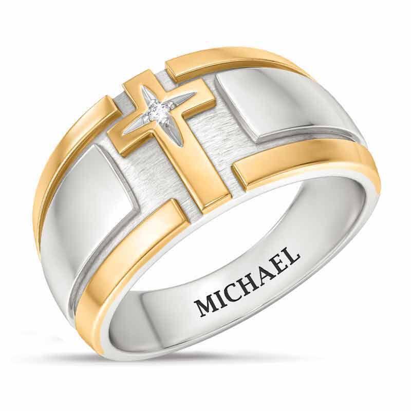 Steel Devotion Diamond Ring 5369 001 2 1