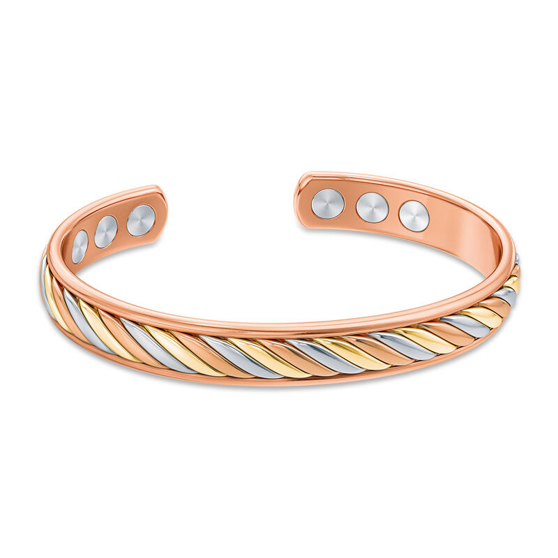 Strong Beautiful Loved Daughter Copper Bangle 10173 0018 a main