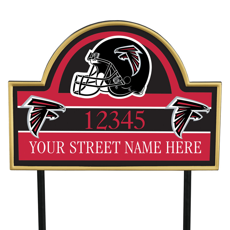 NFL Pride Personalized Address Plaques 5463 0405 a falcons