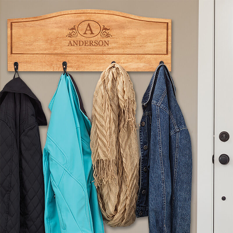 The Personalized Deluxe Coat Rack 5681 001 3 3