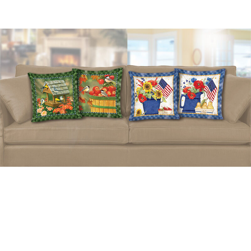 Seasonal Sensations Monthly Pillow Collection 4465 001 8 6