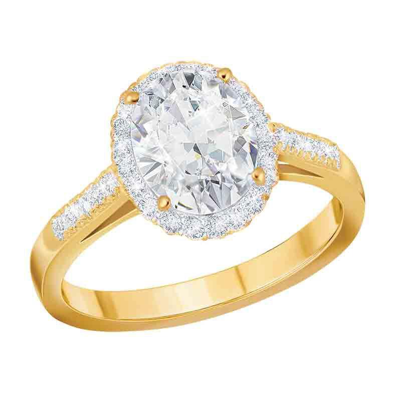 Golden Radiance Diamonisse Ring 6161 001 0 1