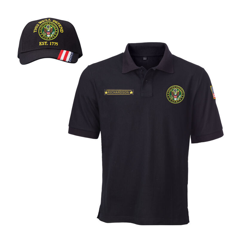 The US Army Personalized Polo  Cap 6605 001 4 1