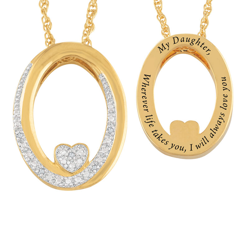 I Will Always Love You Daughter Diamond Pendant 10011 0014 a main