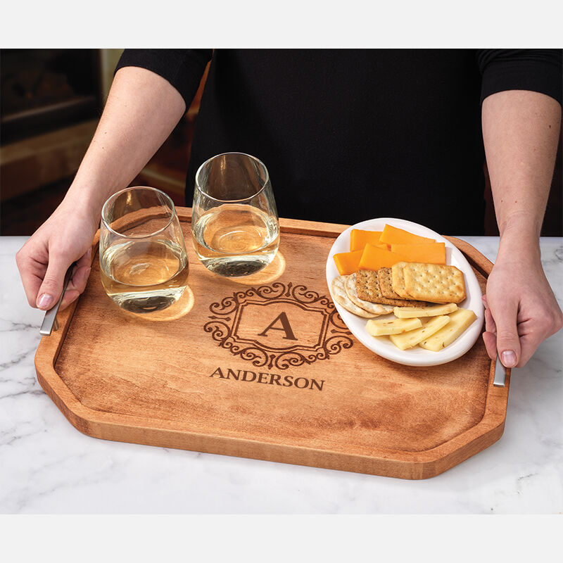 The Personalized Deluxe Serving Tray 5666 001 2 4