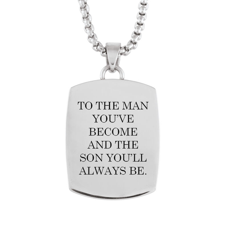 To The Man Youve Become Son Journey Pendant 6910 0014 c back