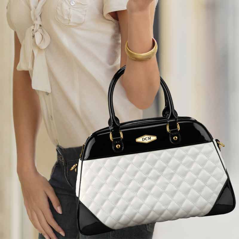 The Personalized Quilted Satchel 1293 002 0 5