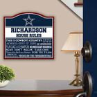The NFL Personalized House Rules 6087 001 1 2