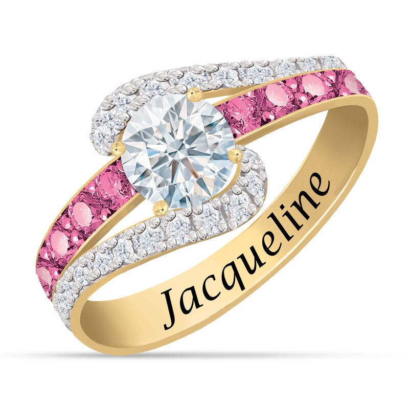 Personalized Birthstone Splendor Ring 10385 0012 j october