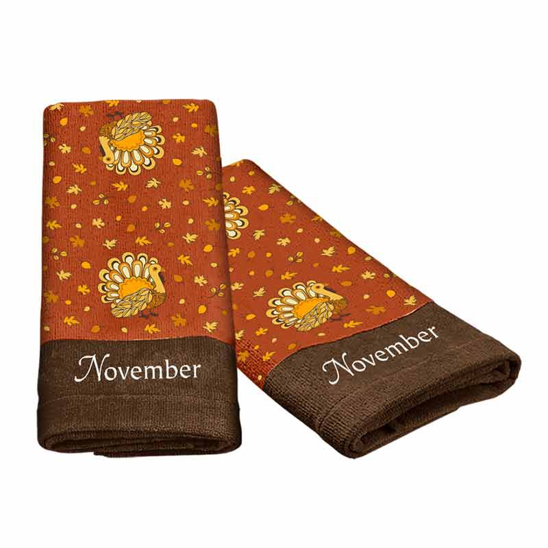 A Year of Cheer Hand Towel Collection 4824 002 2 14