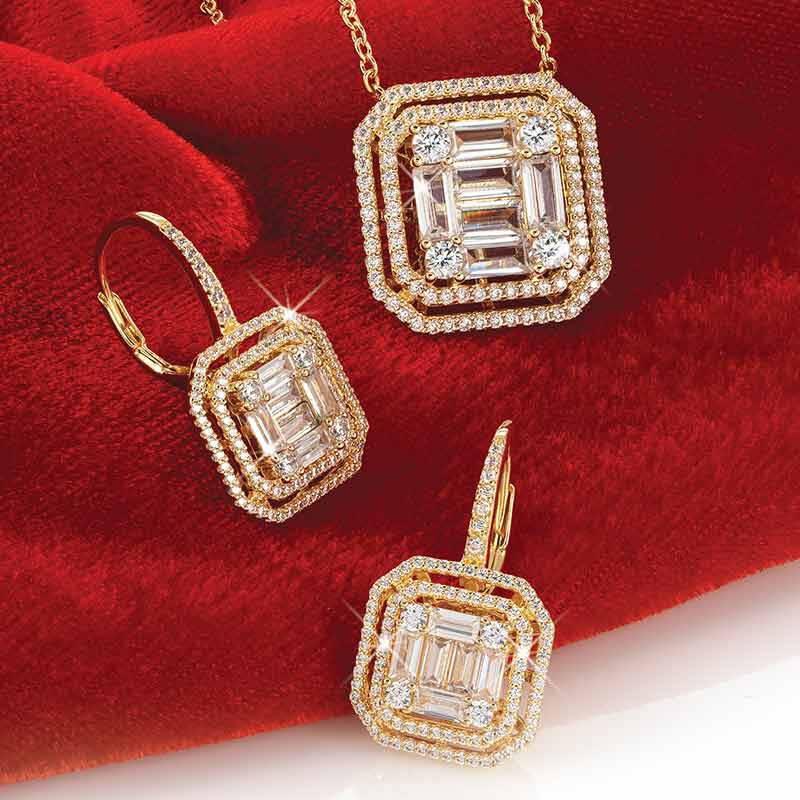 Refined  Radiant Necklace and Earring Set 6358 001 3 5