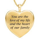 Heart of Our Family Diamond Pendant 10177 0014 c back