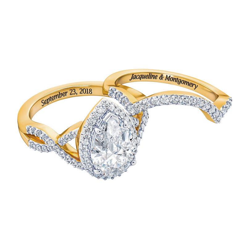 The Diamonisse Bridal Set 2775 0017 b seperate