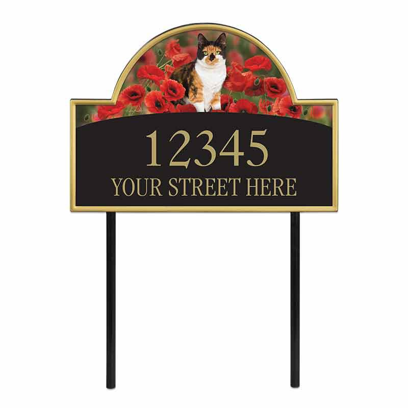 The Captivating Kitties Address Plaque by Simon Mendez 1088 004 5 1