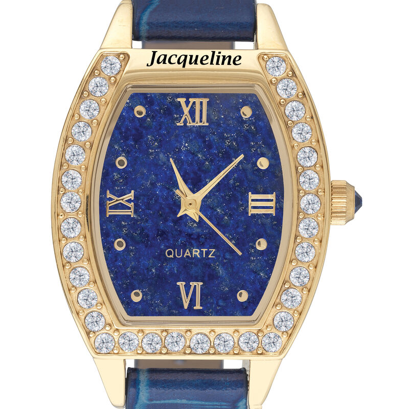The Daughter Blue Lapis Watch 10014 0011 b close up