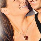 Love Everlasting Jade and Diamond Heart Pendant 6028 001 3 3