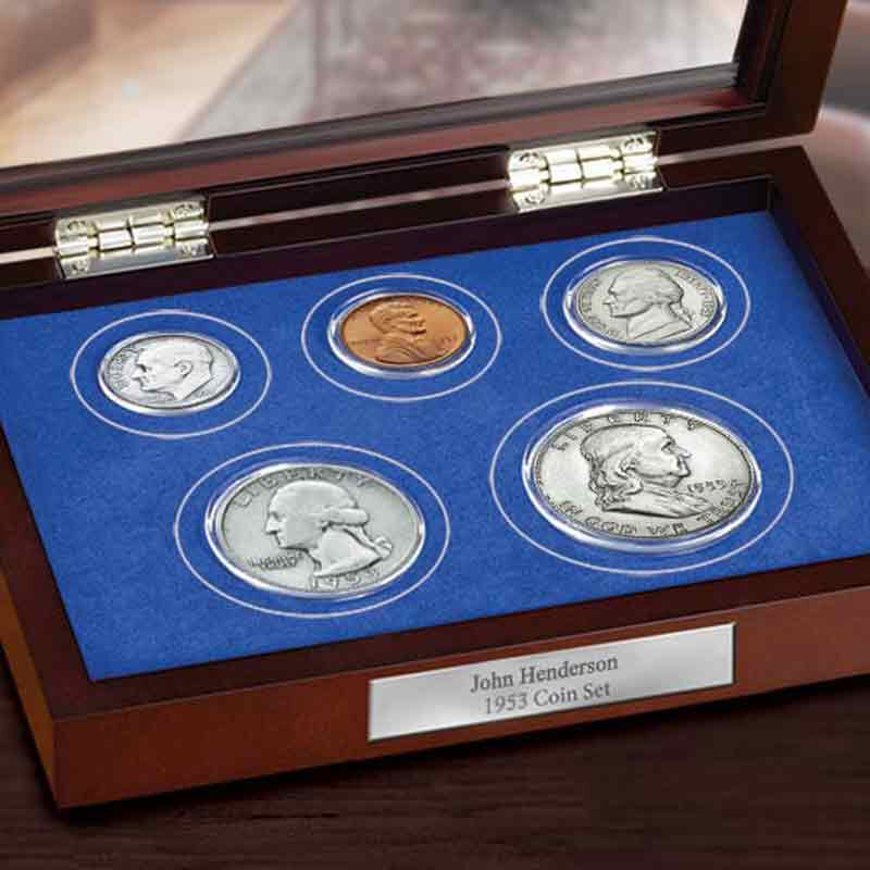Year of Birth Coin Set 5247 001 0 3