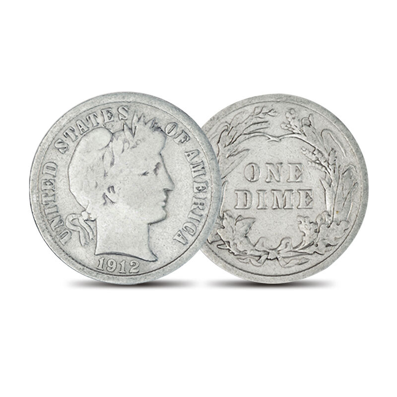 20 Years of Barber Silver Dimes 4543 0030 a main