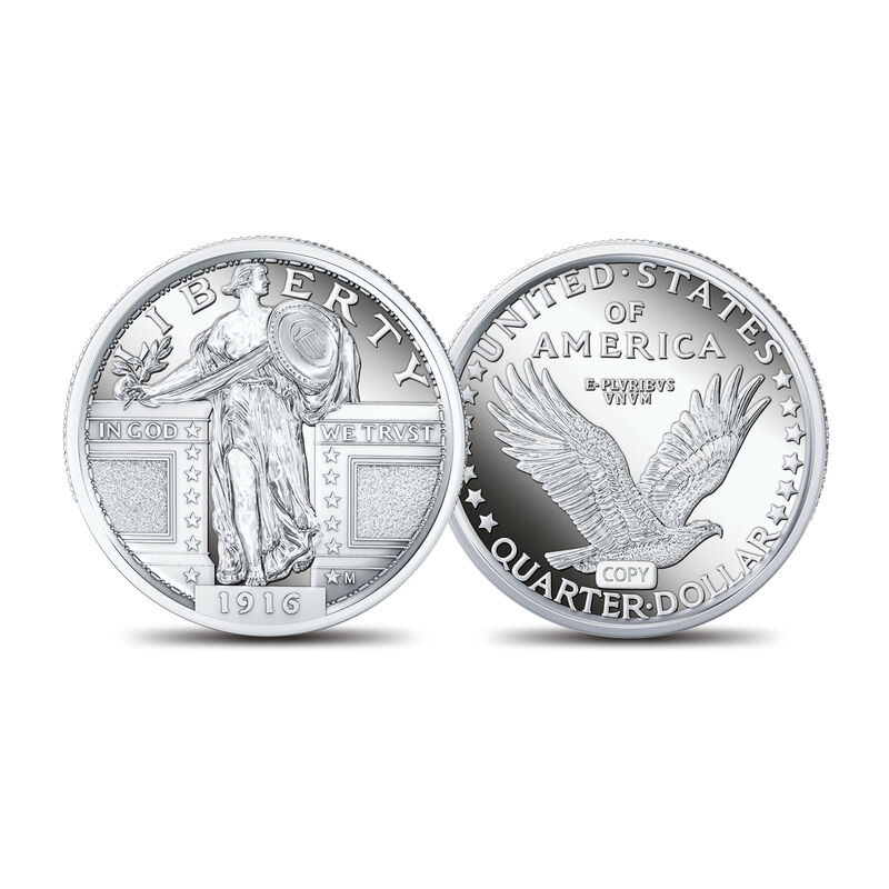 Classic American Coinage The Silver Tributes Collection 6812 0013 a main
