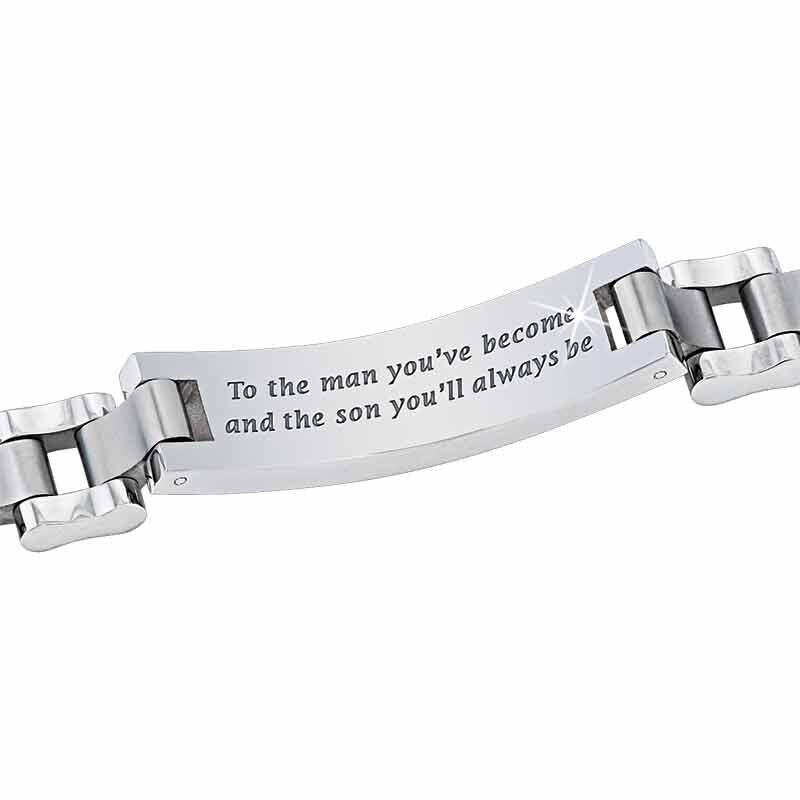 For My Son Personalized Bracelet 2592 014 1 2