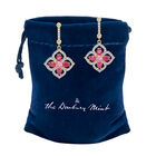 The Blossoming Beauty Earrings 6326 0012 g gift pouch