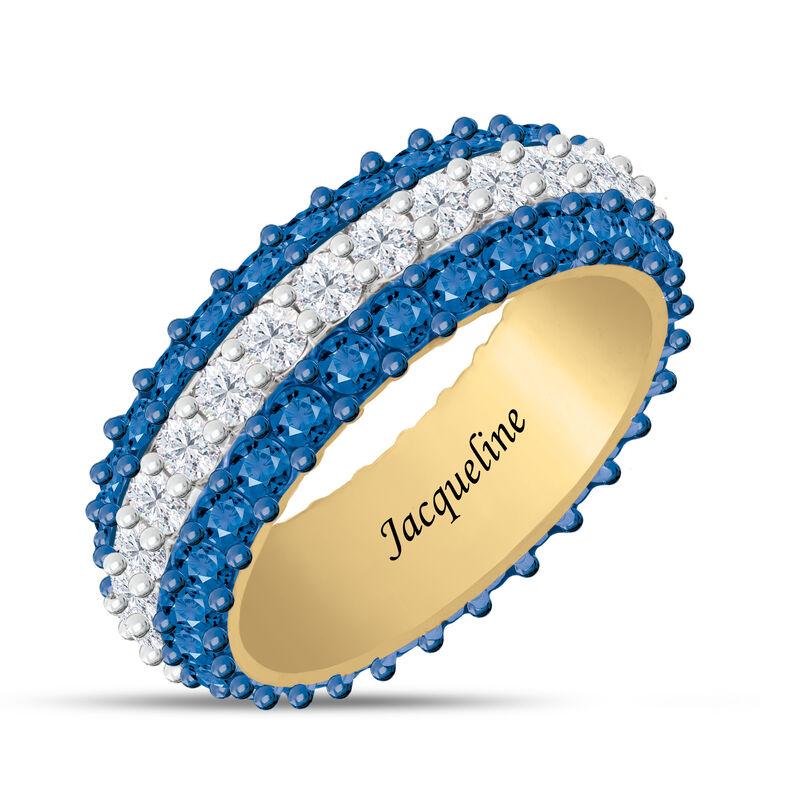 Birthstone Beauty Eternity Ring 6911 0013 i september