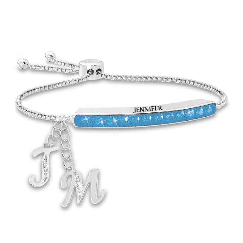 Personalized Birthstone Bolo Bracelet 1864 002 9 12