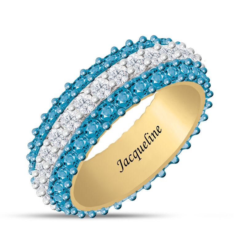 Birthstone Beauty Eternity Ring 6911 0013 l december