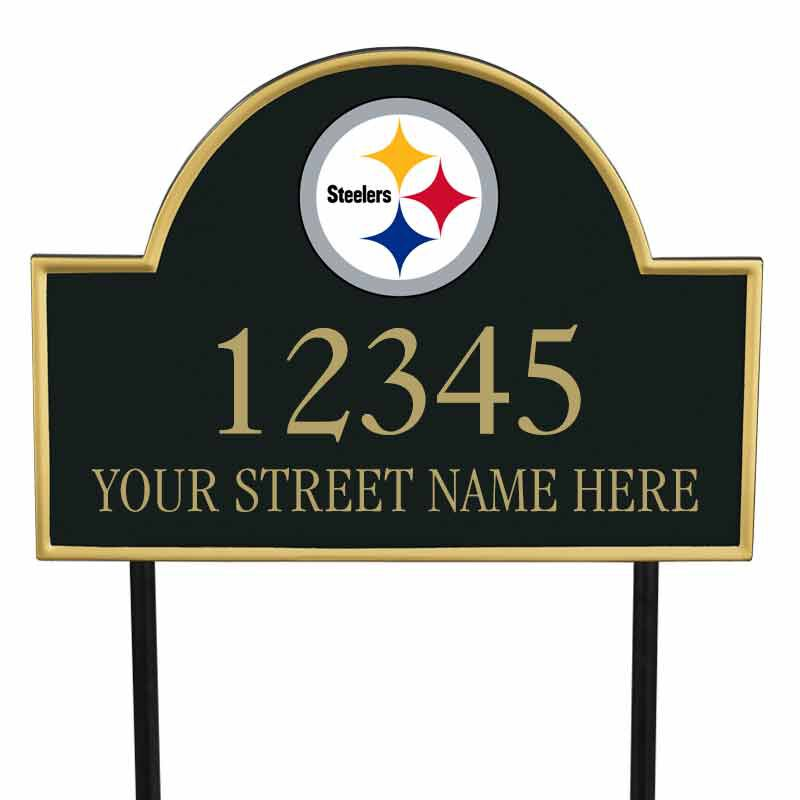 The NFL Personalized Address Plaque 5463 0355 z steelers