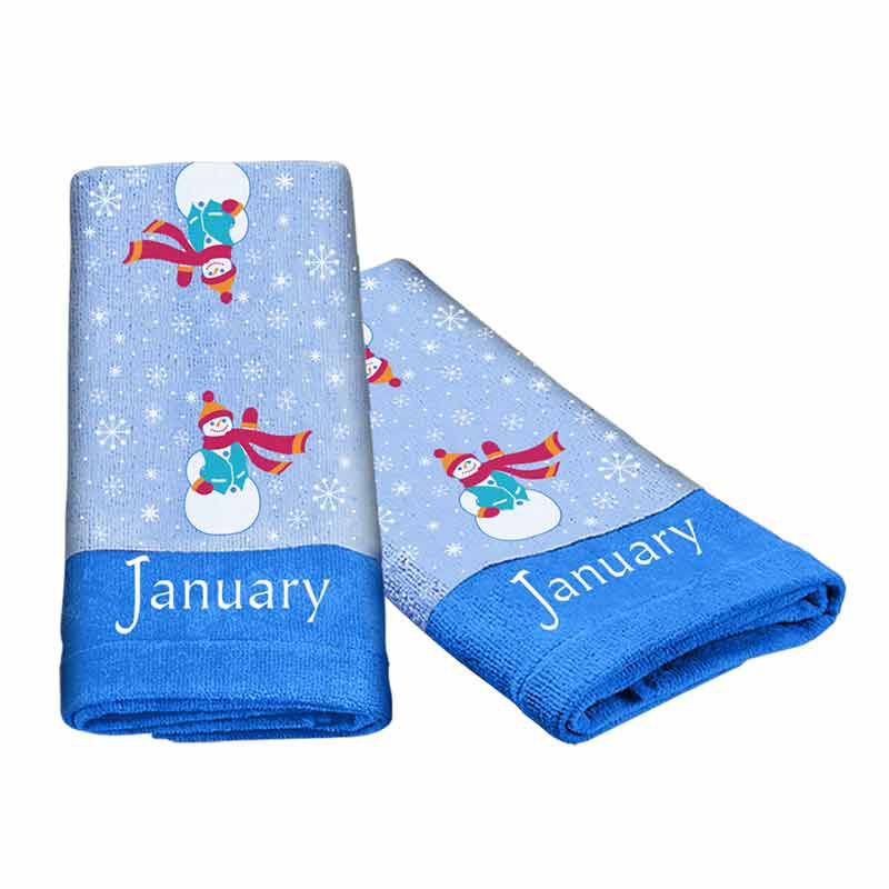 A Year of Cheer Hand Towel Collection 4824 002 2 2