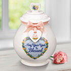 A Year of Blessings Porcelain Jar with Card 6538 001 6 5