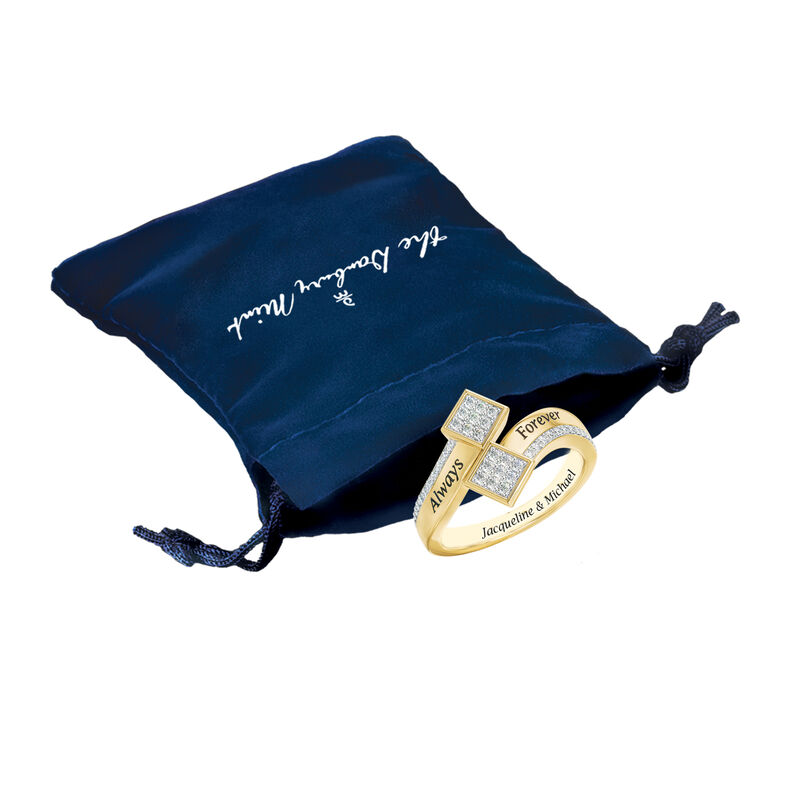 The Always Forever Diamond Ring 6499 0013 g pouch