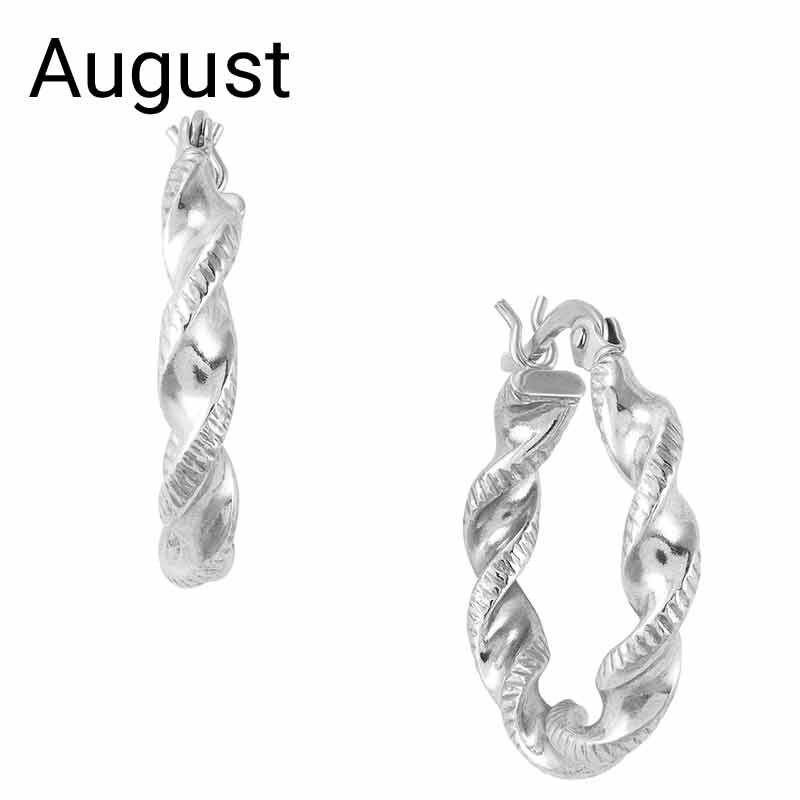 A Sterling Year Silver Earrings Collection 6073 003 3 9