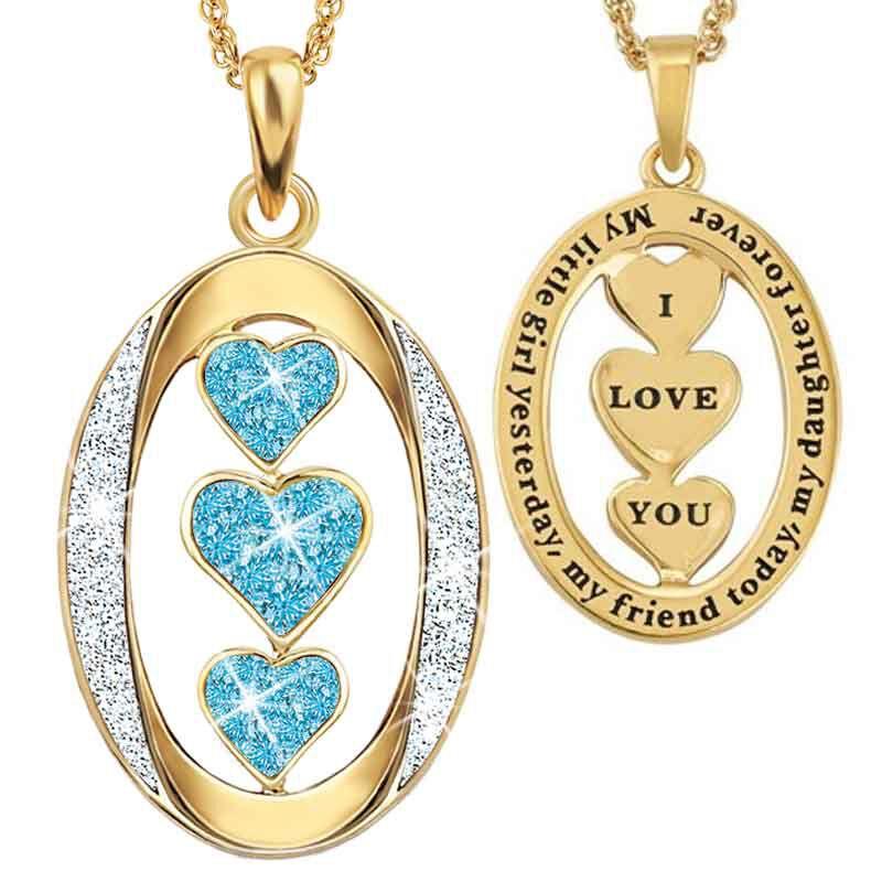 My Daughter I Love You Diamond Pendant 1136 001 3 12