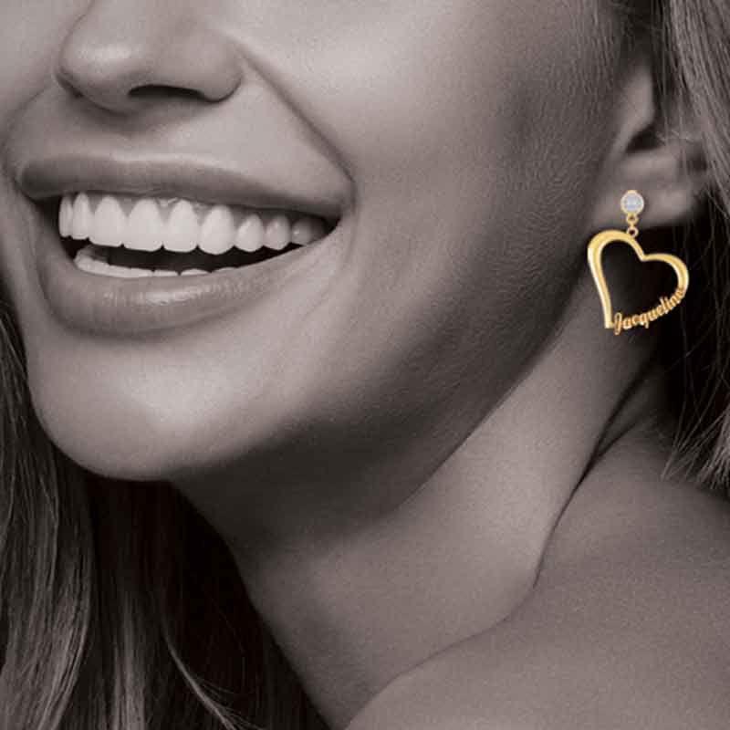 Diamond Heart Earrings 6706 001 2 2