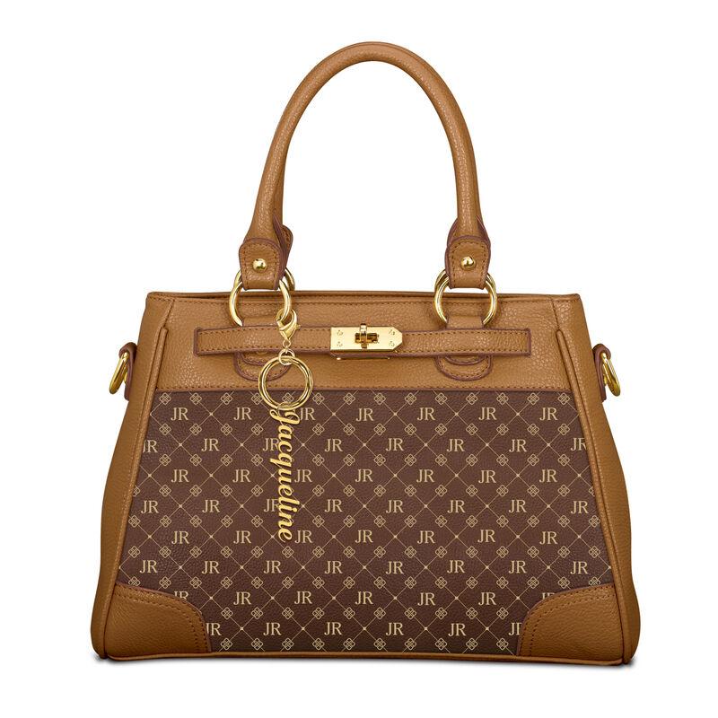 Personalized Initial Handbag 1040 0158 a main