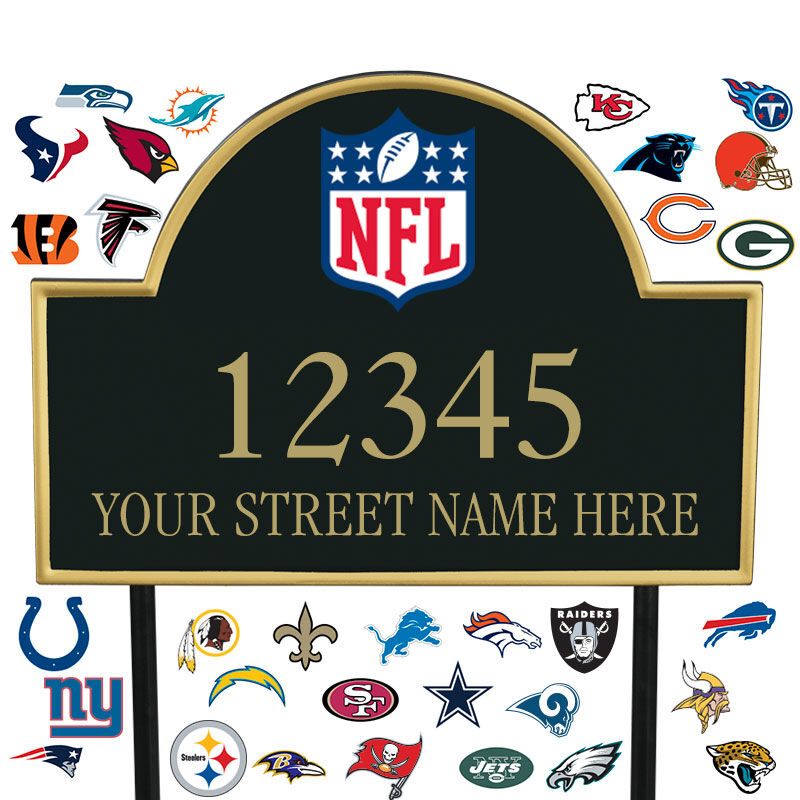 NFL Address Plaques 5463 0355 a main
