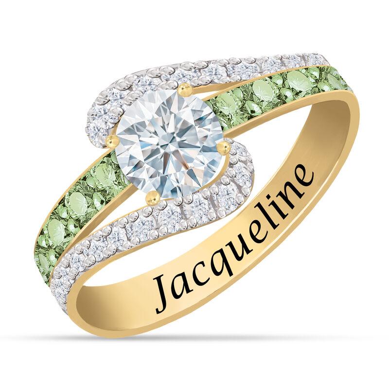 Personalized Birthstone Splendor Ring 10385 0012 h august